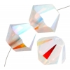 Aurora Borealis x2 White Opal
